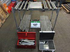 A RONCARI Model VER-486401-2RO 4-Point Clamp Pressure Testing System comprising Digital Data Capture