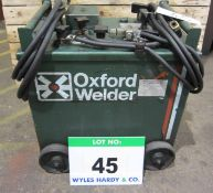 An OXFORD 25-300 Amp Arc Welder, Serial No. 773979, complete with Torch and Earth Leads