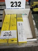 Three Packs of ESAB Type OK 48.00 Electrodes, Welding Rods, 2.5mm x 350mm - 4.3Kg Per Pack (Sealed