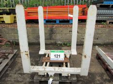 A Pair of CASCADE Turnaload Forks, Size 125mm x 50mm, Fork Length 1100mm (Unused)
