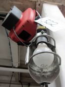 A DEMAC Retractable 240V Extension Lead Reel with Inspection Lamp and Swivel Bracket, (Method