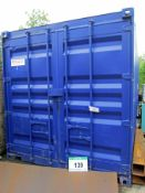 A 30ft Reconditioned CIF Shipping Container with Box Lock (Use Reserved until 25/09/20) (Method
