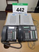A NORTEL Telephone System comprising Model BCM50 Business Communications Manager, BCMSO Expansion