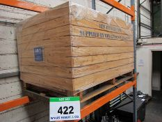 A 6ft x 4ft x 3ft 6 Inches Wood Potato Box (Excludes Racking)
