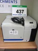 A HEWLETT PACKARD CP3525dn Colour Laser Printer