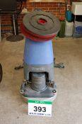 A NUMATIC Model TT4055 240V AC Electric Pedestrian Floor Scrubber, Serial No. 150721331, complete