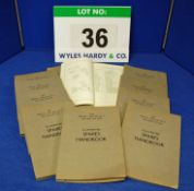 Ten Copies of the Spares Handbook for The Bristol Type 408 M II, 409 and 410 Car