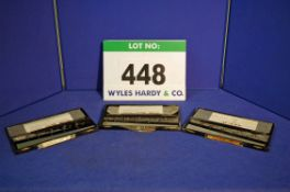 Three Sets of O-VEE Thread Gauges, 3/16 inch-1/2 inch BSF, 1/4 inch-1/2 inch UNF and 1/4 inch-1/2