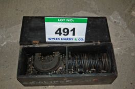 A Wooden Chest containing One Hundred and Fourteen Various WICKMAN Type External Caliper Thread