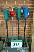 Four 50-Gallon Drum Pumps