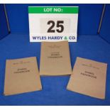 A Collection of Three Spares Handbooks for the Bristol Type 406, Type 407 and Type 408 Mk II, 409