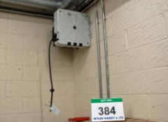 An RASM Wall mounted Inertia Reel Retracting Air Hose Reel - Risk Assessment and Method Required