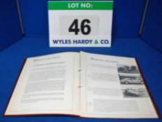 A Copy of The Bristol Cars 600 Series Sales Brochure in Loose Leaf Form - Five Pages Plus Cover