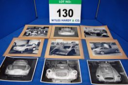 Four Promotional Black and White Photographs of The Construction of a Bristol 406S and A