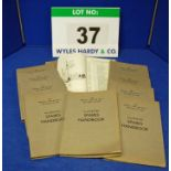 Ten Copies of the Spares Handbook for The Bristol Type 408 Mk II, 409 and 410 Car