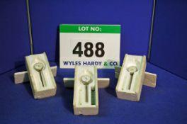 Three 1 1/2 inch, 0-0.250 inch Dial Gauges