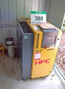 An HPC KAISER SM12T 8-Bar capacity Cabinet Enclosed Screw Compressor, Serial No. 1359 (2013), with