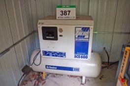 A FIAC AIR COMPRESSORS SCS600 Cabinet Enclosed Screw Compressor, Serial No. BL-1 34023 (2010), on