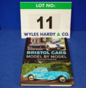 A Copy of Bristol Cars Model By Model by Michael Palmer (forward by Sir George White) Signed by