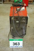 AN ESAB A10-160K 160A Mobile Mig Welding Set with Torch and Clamp, 415V (Excludes Gas Bottle)
