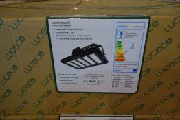 2 X Luceco LHBCX27D60-01 LED 195W Ceres Extra Highbays 140 Lumen 4000K Neutral White IP65 Black