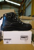 11 Pairs Of Graft Gear 402 Waterproof Composite Hiker Safty Boots Size UK11 EUR 46 Black