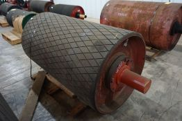 """Continental 38""""Diameter Tapered Conveyor Pulley