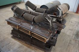 """Lot of (5) 6""""Diameter Training Idlers
