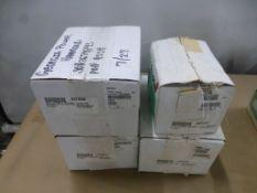 Lot of (4) ASCO Valves|(1) Cat No. 8344G074; (1) Cat No. EFHT8344G074M0; (1) Cat No. 8300G076F; (1)