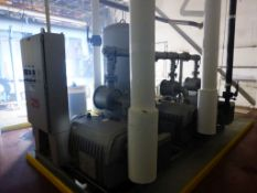 Busch Skid-Mounted Vacuum Pump|(3) Busch Pumps, 25 HP Motor, Type: RC0630-B007-1014, 460 CFM