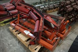 """Lot of (4) 6"""" D Training Idlers