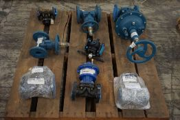 Lot of (8) Assorted Valves|Lot Loading Fee: $5.00