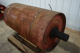 """Continental 36""""Diameter Tapered Conveyor Pulley