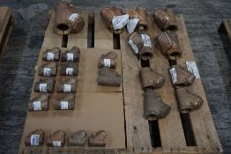 """Lot of (24) Brass Check Valves