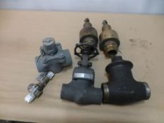 Lot of Assorted Valves|(1) Tyfline 2-Way Sleeved Plug Valves; (1) Consolidate Valves Type: 2478D-1-3