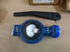 """Lot of Assorted Valves and Clamps