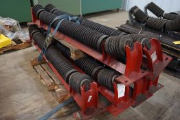 """Lot of (6) 6""""Diameter Training Idlers
