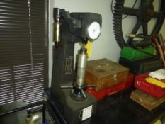 Misawa Seiki Hardness Tester|Includes Wood Box Containing Weights and Accessories