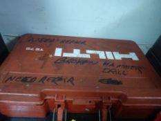 Hilti TE72 Hammer Drill|Needs Repair