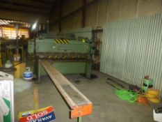 "Cincinnati Mechanical Shear|Model: 14; 72""; Rear Operated Back Gauge"