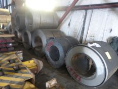 Lot Approx. 35 - 40 Steel Coils|Est. 6 Trucks for Removal; *Seller will load onto APPROPRIATE TRAIL