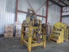 35,000 lb Motorized Coil Grab|Includes:; Stand; Manual Coil Grab