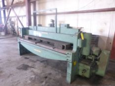 Wyson 8' Mechanical Shear|Front Operated Back Gauge