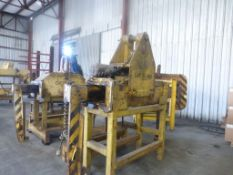 35,000 lb Motorized Coil Grab|Includes Stand