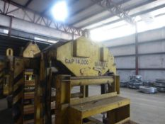 Bradley 14,000 lb Motorized Coil Grab|Does Not Include Stand