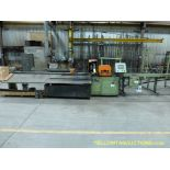 Scotchman CNC Cold Saw w/Infeed and Outfeed Conveyor