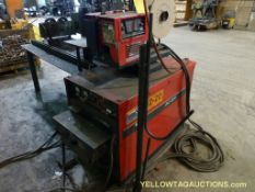 Lincoln DC 600 Welder WLM-9 Wire Feeder