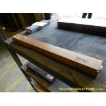 """Mitutoyo Standard 22"""" Calibration Rod in Wooden Box"""