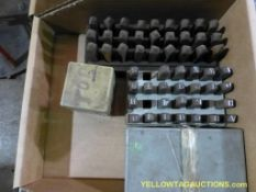 Lot of Assorted Steel Stamps