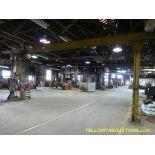 Gantry Free Standing 3 Ton Crane w/Robbins & Myers Chain Hoist